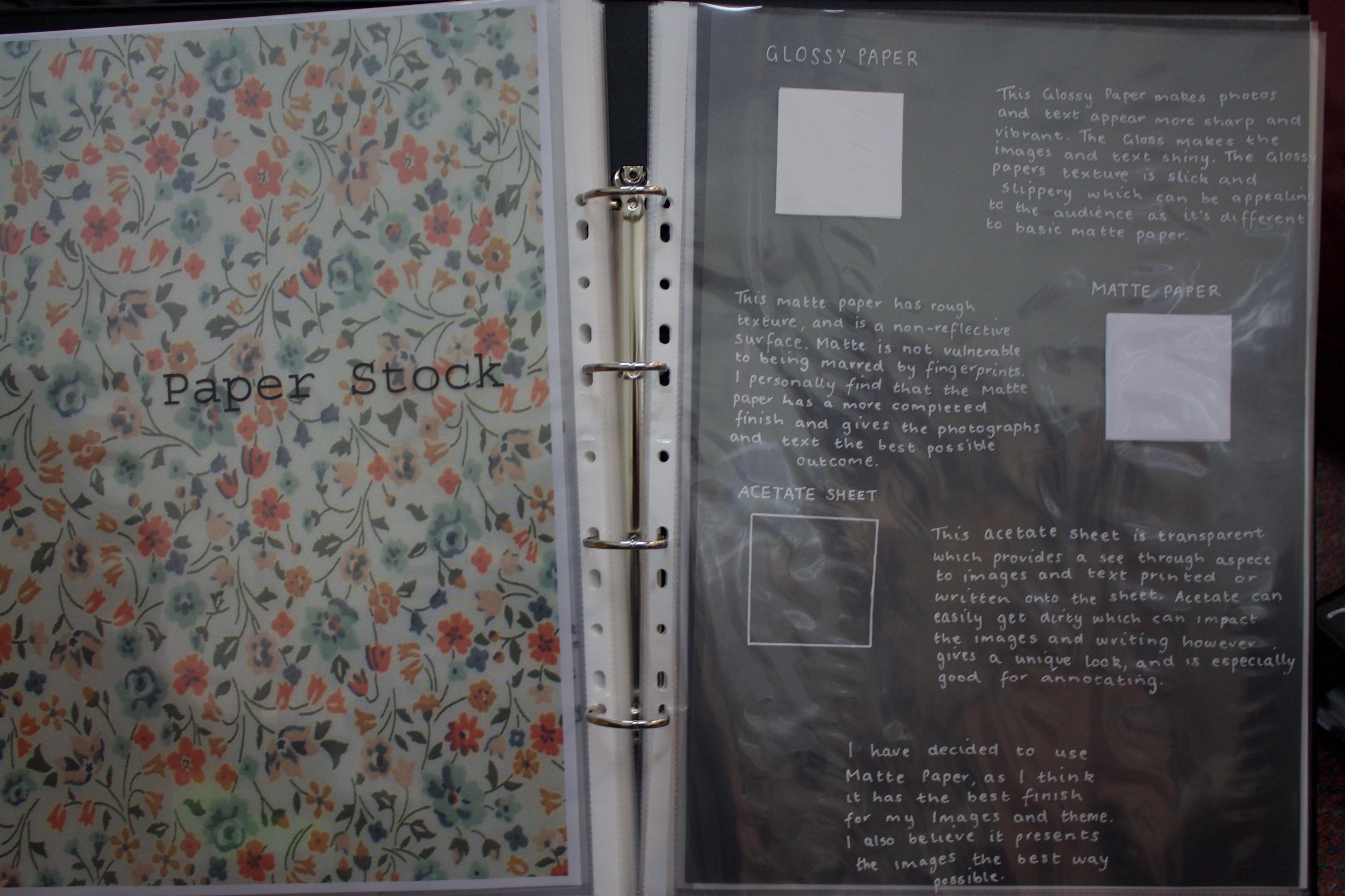 Folio – Criteria 1 to 4   MEDIA